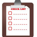 Checklist you can download.