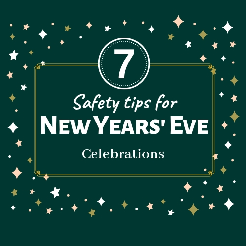 7 New Years' Eve Safety Tips